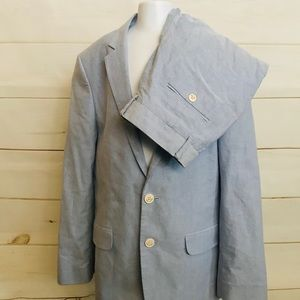 TOMMY HILFIGER POWDER BLUE SUIT